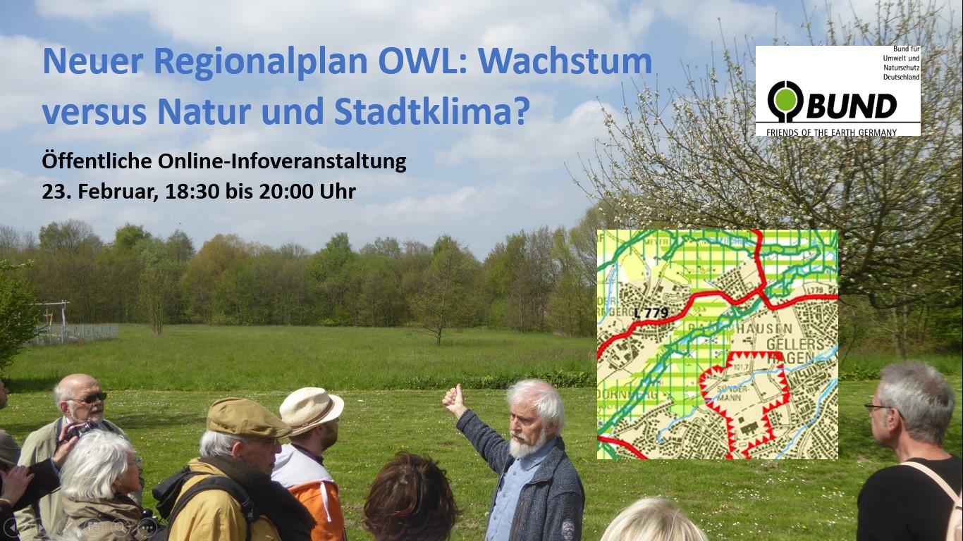 Neuer Regionalplan OWL – BUND-Zoomveranstaltung