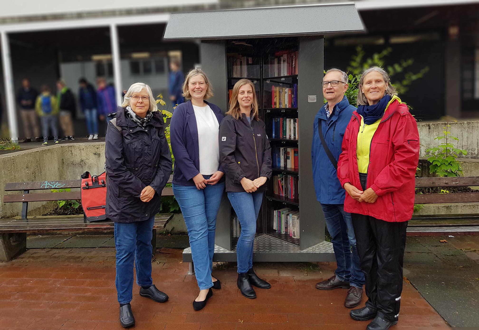 Neue Bücherschrank am Bültmannshof